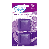 KOSTKA WC COLOUR LAVENDER VIOLET / FIOLETOWY A'2